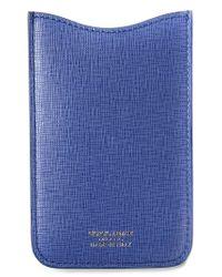 Giorgio Armani - Blue Classic Phone Case - Lyst