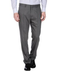 Lagerfeld - Gray Casual Trouser for Men - Lyst