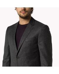 Tommy Hilfiger - Gray Wool Blend Fitted Suit for Men - Lyst