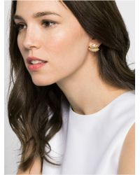 BaubleBar - Metallic Lashed Out Ear Jackets - Lyst
