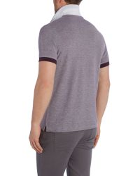 Lyle & Scott | Purple Oxford Pique Polo Shirt for Men | Lyst
