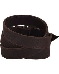 Hoorsenbuhs - Brown Leather Wrap Bracelet - Lyst