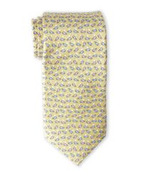 Pierre Cardin | Metallic Whale Silk Tie for Men | Lyst