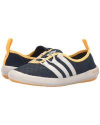 Adidas Originals - Blue Climacool® Boat Sleek - Lyst
