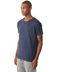 Alternative Apparel - Blue Perfect Vintage Organic Pima T-shirt for Men - Lyst