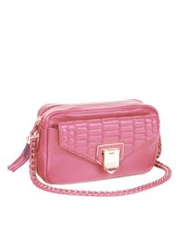 Aimee Kestenberg | Pink Samia Leather Camera Crossbody Bag | Lyst