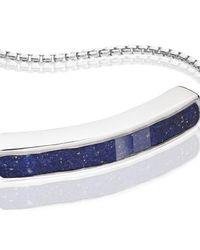 Monica Vinader - Blue Baja Bracelet - Lyst