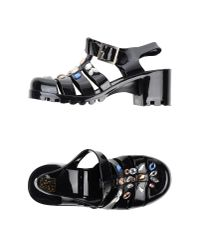 Colors Of California - Black Sandals - Lyst