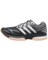 Adidas | Black Response Boost Techfit | Lyst