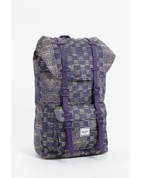 Herschel Supply Co. | Blue Little America Backpack for Men | Lyst