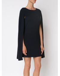 Co. - Black Short Cape Dress - Lyst
