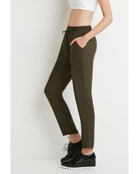 Forever 21 - Green Classic Drawstring Pants - Lyst