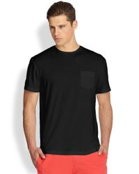Onia - Black Joey Pocket Tee - Lyst