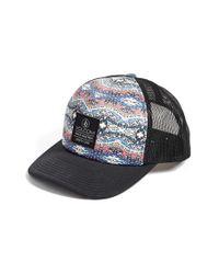 Volcom - Blue 'nacho' Trucker Hat - Lyst