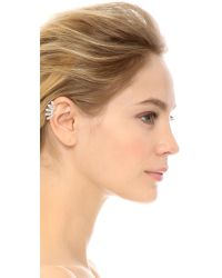 House of Harlow 1960 | Metallic Kay Marquis Left Ear Cuff - Silver | Lyst