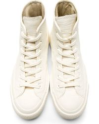 Converse - White Maison Martin Margiela Edition High_top Sneakers - Lyst
