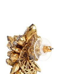 Erickson Beamon - Metallic 'temptress' Crystal Cluster Earrings - Lyst