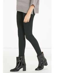 Warehouse - Green Signature Skinny Jeans - Lyst