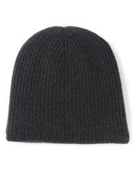 Warm-me - Gray 'cozy-4' Knit Beanie - Lyst