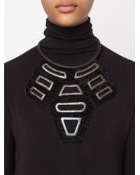 Urban Zen   Black ' Shield' Necklace   Lyst