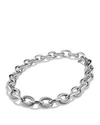 David Yurman | Metallic Oval Extra-large Link Necklace, 18"