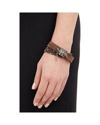 Sevan Biçakci | Brown Wrap Bracelet With Dagger Closure | Lyst