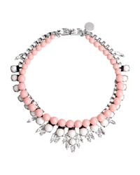 Ellen Conde | Pink Necklace | Lyst