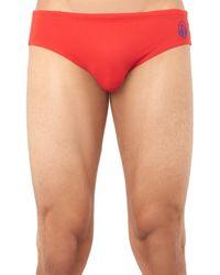 Robinson Les Bains - Red Yale Swim Briefs for Men - Lyst