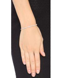 Shashi - Pink Tennis Slide Bracelet - Lyst