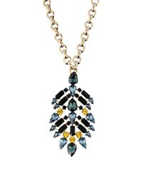 Roberto Cavalli - Metallic Necklace - Lyst