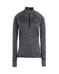 Nike | Gray Dri-fittm Element Half Zip | Lyst