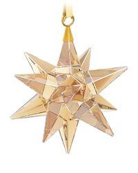 Swarovski | Metallic Star Ornament, Golden Shadow | Lyst