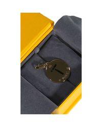Fendi | Metallic Bijoux Charming Letter T | Lyst