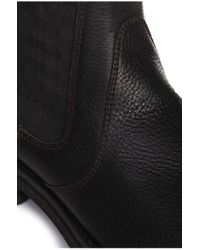 BOSS Orange Black Boots 'bootor' In Leather for men