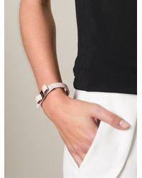 Ferragamo   Pink 'Vara' Bow Bracelet   Lyst
