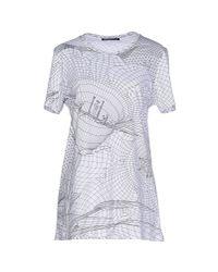 Christopher Kane - White T-shirt - Lyst