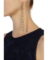 Coast - Metallic Chandelier Longline Earrings - Lyst