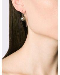 Pearls Before Swine | Metallic Tahitian Pearl Drop Earrings | Lyst
