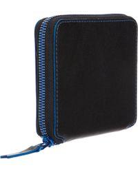 Comme des Garçons | Black Marvellous Zip Around Wallet | Lyst