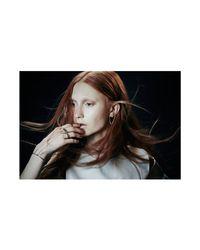 Colette Malouf | Metallic Highline Wrist Chain Cuff | Lyst