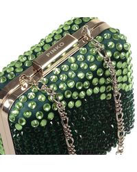 Pinko | Green Clutch | Lyst
