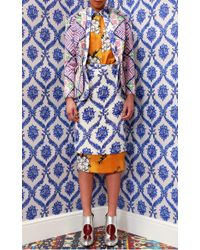Tata Naka - Pink Rose Tile and Porcelain Wallpaper Double Jacket - Lyst