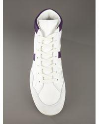 Dolce & Gabbana | White High Top Sneaker for Men | Lyst