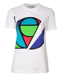 Être Cécile - White Front Graphic Tshirt - Lyst