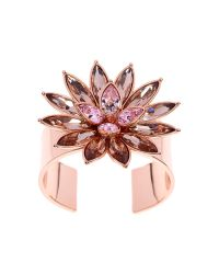 Ted Baker | Pink Fonta Flower Bloom Cuff | Lyst