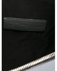 Alexander McQueen - Gray Mcqueen Print Clutch for Men - Lyst