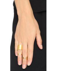 Gorjana - Metallic Jillian Midi Ring - Gold - Lyst