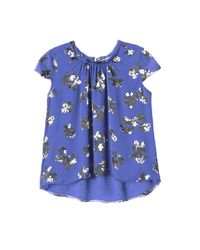 Rebecca Taylor | Blue Alyssum Burnout Top | Lyst