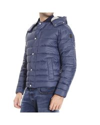 Hogan | Blue Down Jacket for Men | Lyst
