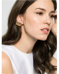 BaubleBar - Metallic Ice Fringe Ear Crawlers - Lyst